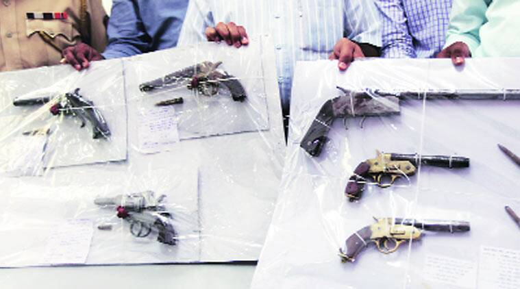 Navi Mumbai Civic polls, civic poll,s mumbai polls, illegal arms trade, arms trade, mumbai police, mumbai news, city news, local news, mumbai newsline