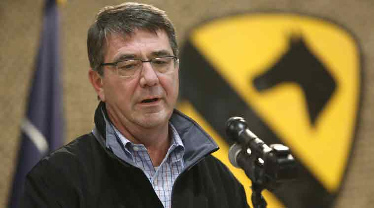 Ash Carter, Pentagon chief