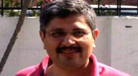 10 days after he complained, Ashish Joshi gets marchingorders