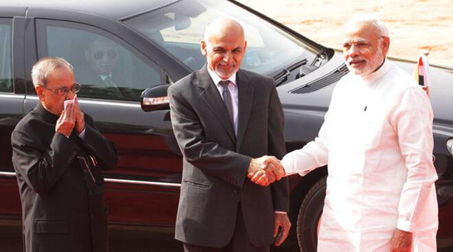 Modi holds talks with Ashraf Ghani, shares views on regional security and Taliban