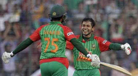 Tamim Iqbal, Mushfiqur Rahim tons help Bangladesh end 16-year wait