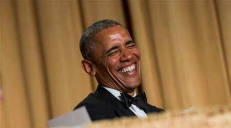 Obama jokes, celebrity-gazing main course at US dinner