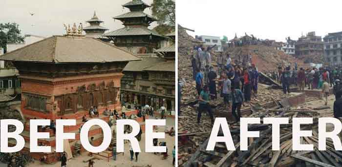 Nepal, Nepal earthquake, Earthquake in Nepal,