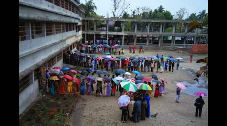 Bengal polls, bengal civic polls, bengal municipality elections, West bengal elections, Burdwan municipality election, bengal polls man shot, Trinamool Congress, Congress, TMC Congress clash, Bengal news, India news