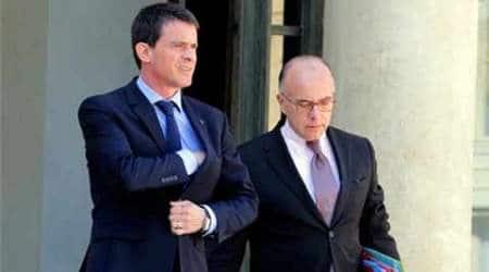 French Minister Bernard Cazeneuve says church attack foiled inParis