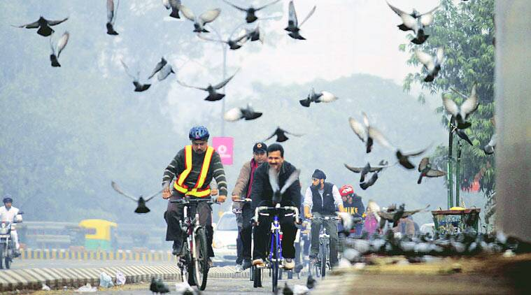 Bicycle scheme, Bicycle scheme for women, Women in Sari, Bicycle scheme for women in sari, DDA, CGM, Delhi latest news