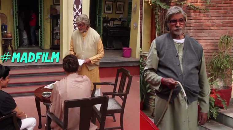 amitabh bachchan, amitabh bachchan piku, amitabh bachchan piku sets, deepika padukone, deepika padukone piku, deepika padukone piku sets, piku, piku film, piku movie, irrfan khan, irrfan khan piku, off screen piku, piku songs, bollywood news, entertainment news