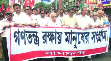 TMC, with police help, did all to foil bandh: Biman Bose