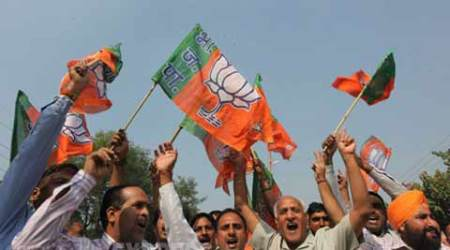 In Graphs: BJP slide after the gains