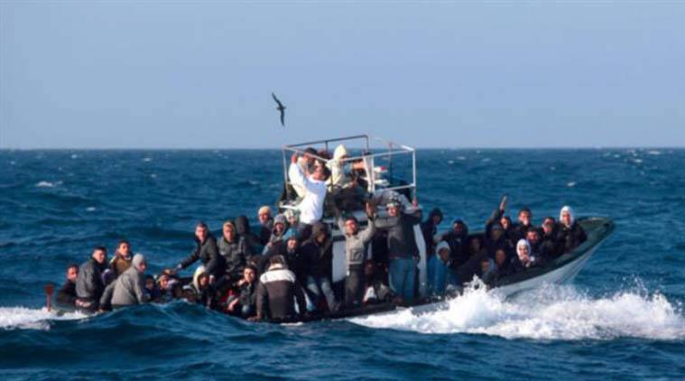 Image result for Migrants drowning in the mediterranean images