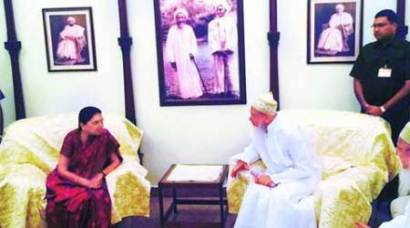 Anandiben reaches out to Bohras, settles shrine dispute