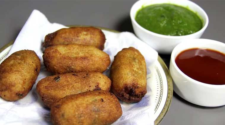Express Recipes: How to make Paneer Bread Roll