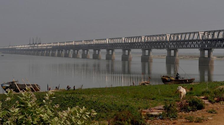 Ganga bridge, modi, bihar