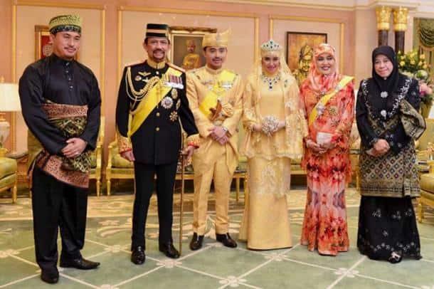Sultan of Brunei, Prince Abdul Malik, Dayangku Raabi'atul 'Adawiyyah Pengiran Haji Bolkiah, brunei heir wedding, brunei news, world news, indian express