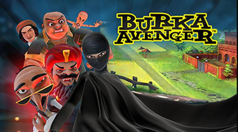 Pakistan's 'Burka Avenger' swoops into India to empower girls