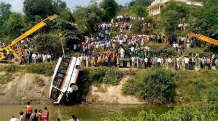 Bihar: Three killed, 10 injured in bus mishap