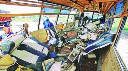 7 killed, 22 injured as college bus collides head-on with dumper in Ambala district
