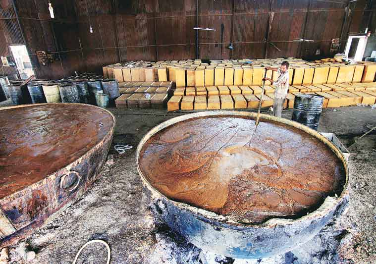 Sagar Soap Works is the only soap-making unit that has survived the new law.
