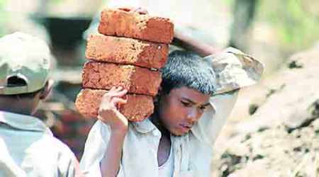 child labour, child labour in india, child labour laws, cheap labour, cheap child labour, Child Labour amendment bill 2016, child labour bill, ban employment of children, children employment ban, education to children, family child labour, allow family child labour, family enterprises child labour, child labour education, health problems to child labours, brick kin labours, hazardous child labour, poverty in india, unemployment in india, child labour act, punishments for offenders, child labour punishments, indian express column, column