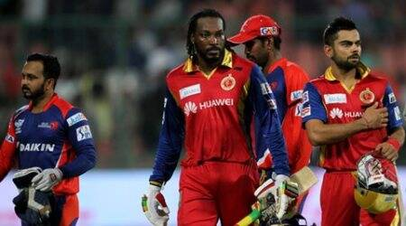 IPL 8, DD RCB, RCB DD, Chris Gayle RCB, RCG Chris Gayle, Gayle RCB DD, Virat Kohli, Indian Premier League, Cricket News, Cricket