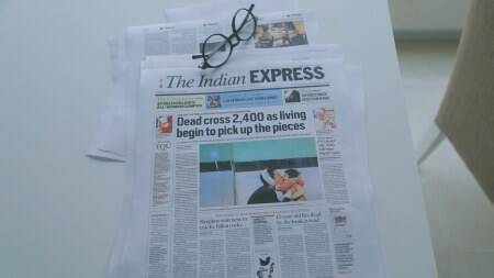 Behind the Indian Express redesign