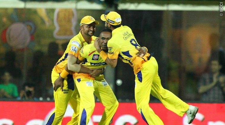 CSK rise to top with two-run win