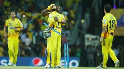 CSK move top of the table