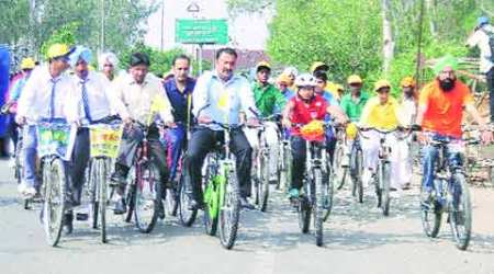 Lakhs spent on infrastructure at cycle expo venue this time
