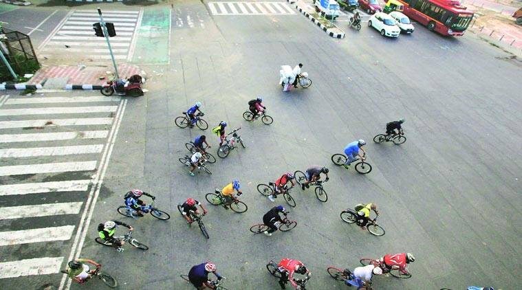 Dda puts cycle sharing project on fast track the indian for Dda new project in delhi