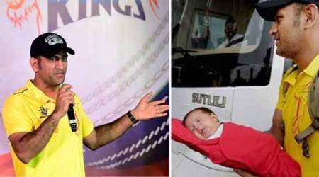 I had not seen Ziva when she was born, was a tough period: MS Dhoni