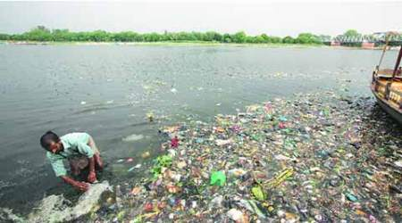 ganga, ganga cleaning, dirty ganga, ganga river bed, up pollution control board, upcb, delhi news