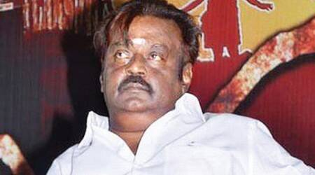 Vijayakanth meets TN bigwigs, to lead delegation to PM