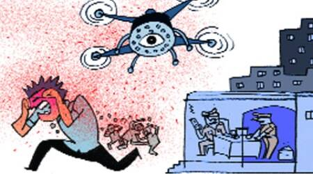 UP cops to use drones with pepperspray