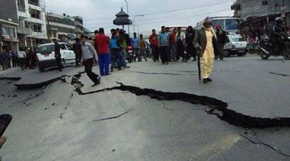 Massive earthquake strikes Nepal, tremors felt in India