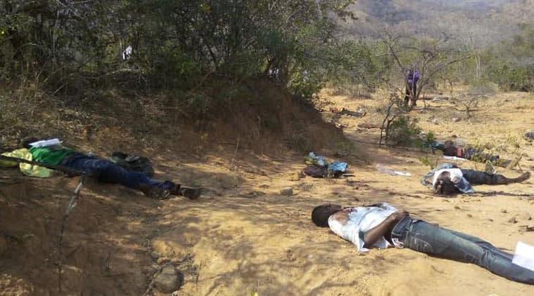 Chittoor, andhra pradesh, andhra pradesh killings, sandalwood labourers killed, andhra killing, sanders, red sanders, Andhra Pradesh killing, Telangana killing, SIMI, labourers killed