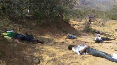 Cellphone records of four of 20 killed blow holes in Andhra police version of massacre