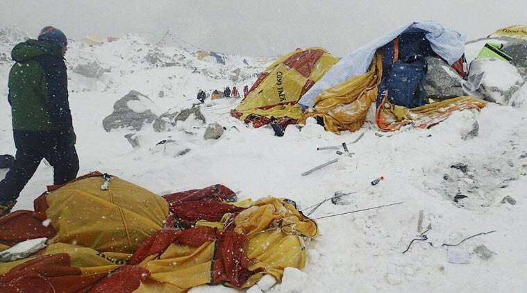 Nepal earthquake: 22 climbers dead in avalanche