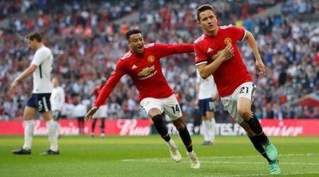 FA Cup semifinal: Manchester United beat Tottenham 2-1 to progress into final