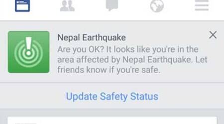 Nepal earthquake: Facebook launches safety tool for people in affected areas