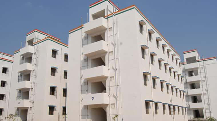 JNNURM housing scheme flats
