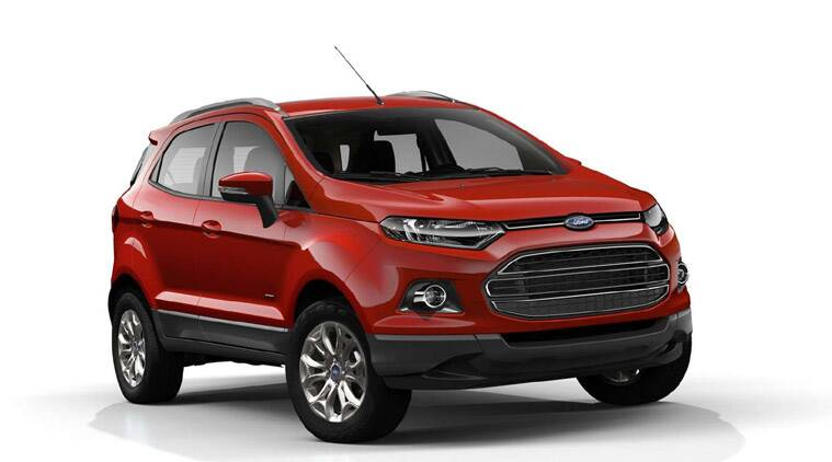 Ford Ecosport Ford Ecosport India India Initial Quality Study