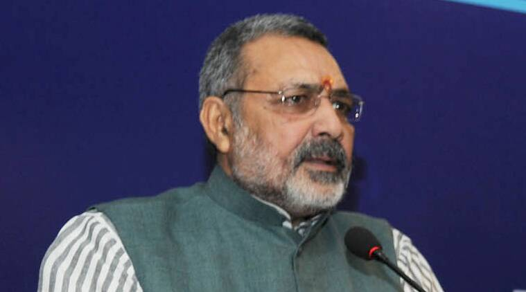 giriraj singh, narendra modi, giriraj cow meat, giriraj beef, giriraj singh news, beef ban, bihar rally, bihar elections, bihar polls news, bihar elections news, india news, latest news