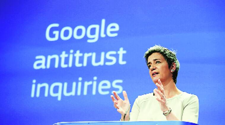 EU charges Google with 'abusing' its dominance