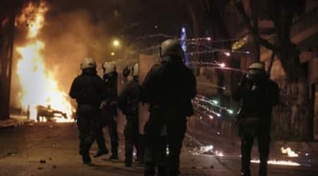 APTOPIX Greece Anarchists Clashes
