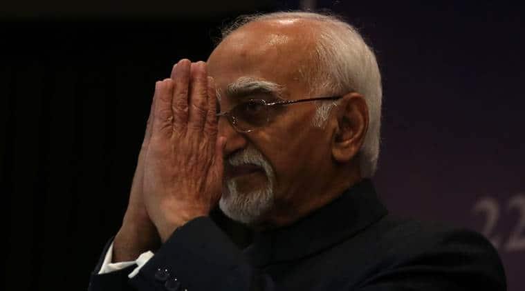 hamid ansari, rajya sabha, vice president hamid ansari, ansari farewell, ansari rajya sabha, ansari on democracy, indian express news