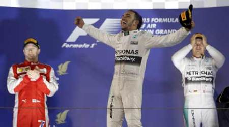 Hamilton consolidates top spot after winning Bahrain GP