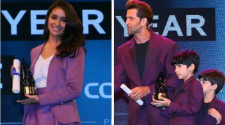 Hrithik Roshan, Shraddha Kapoor win big at IAA Leadership Awards