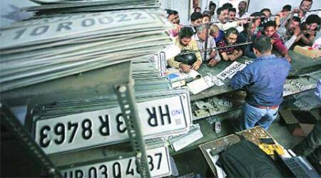 No takers for more than 6,000 HSRPs piling up inPanchkula