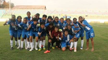 India's U-14 girl footballers return safely from quake-hit Nepal