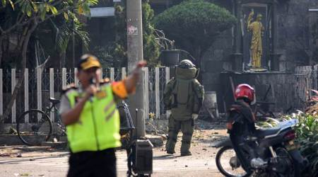 Indonesia church attacks: Suicide bombers kill at least 11, injure 40 in Surabaya